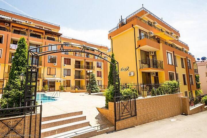 Siana  Апартамент с 1 спальней (4 гостя)