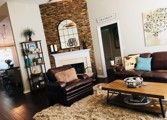 Stylish Home Near Downtown Franklin