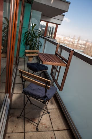 River apartment + free parking - Prague - Apartment