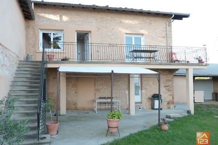 Maison en pierres 150m2 à 2 min de Villefranche - Gleize