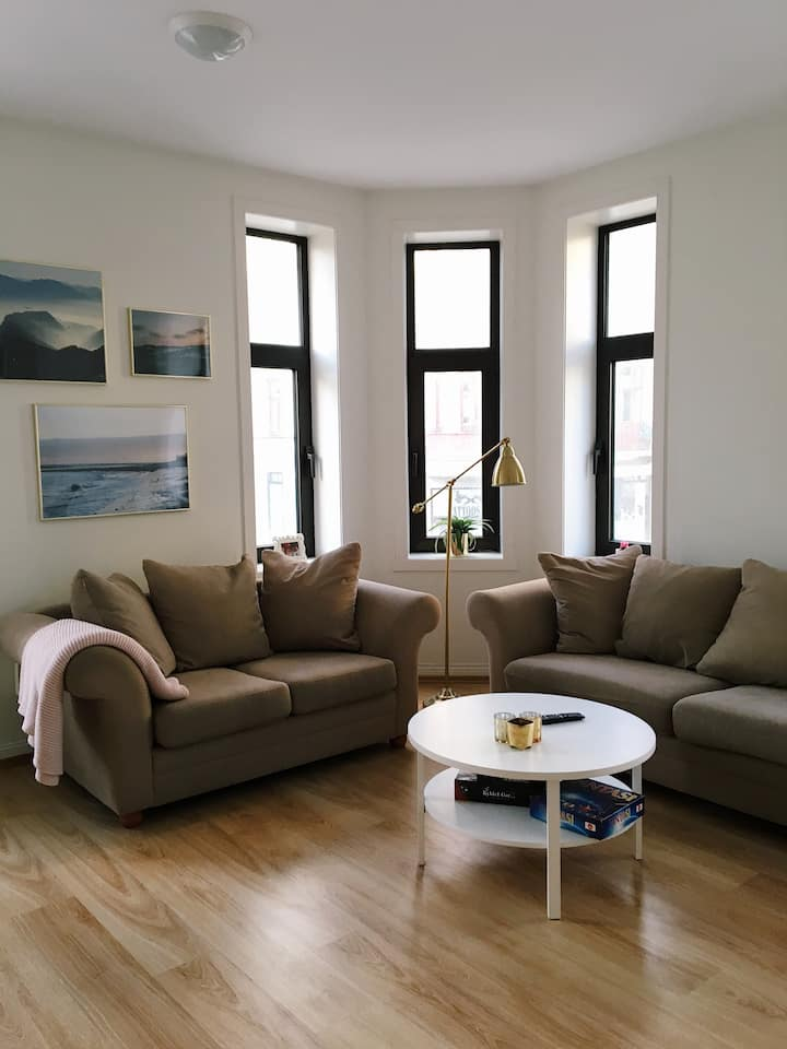 Cosy corner apartment in the heart of Ålesund