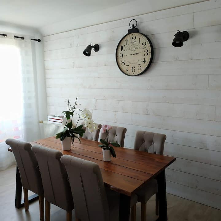 La Rochelle : Appartement lumineux 2 chambres