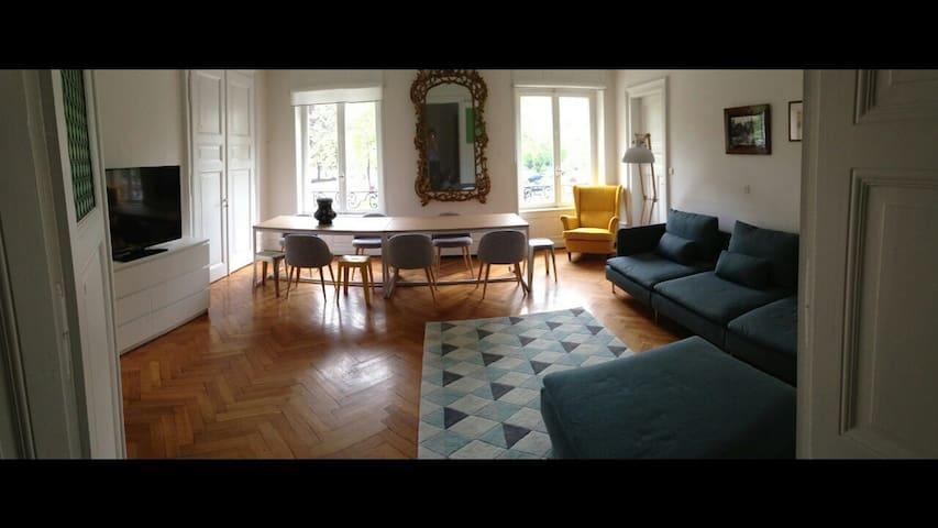 bel appartement 180m2, 8/9personnes - Strasbourg - Huoneisto