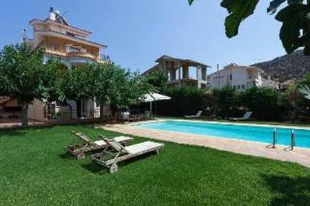 Villa Anavyssos swimmingpool garden - Palaia Fokaia
