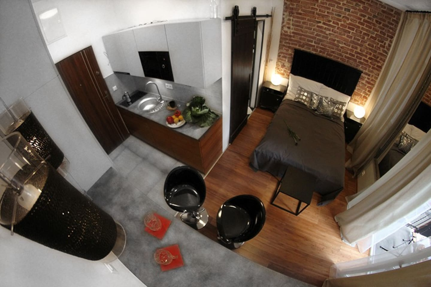 Apartament Bambusowy Bar z balkonem