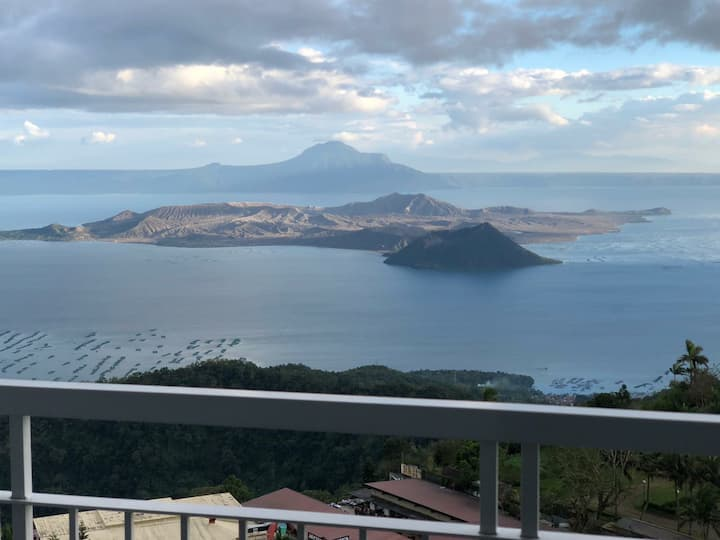 Condo unit. Overlooking Taal. Complete ammenities.