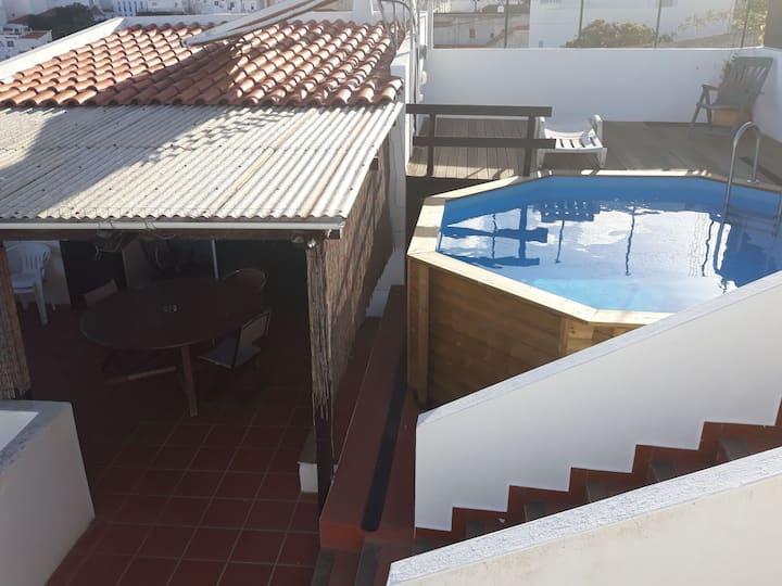 albufeira terrace pool private