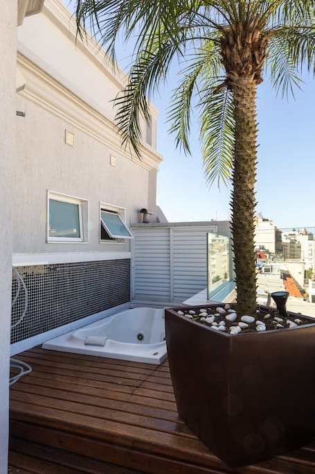 Exclusive use of the Penthouse Jacuzzi