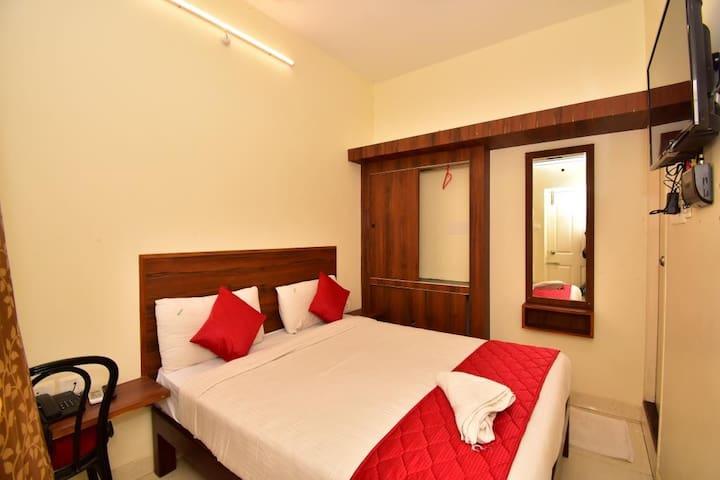 comfort double bed ac room