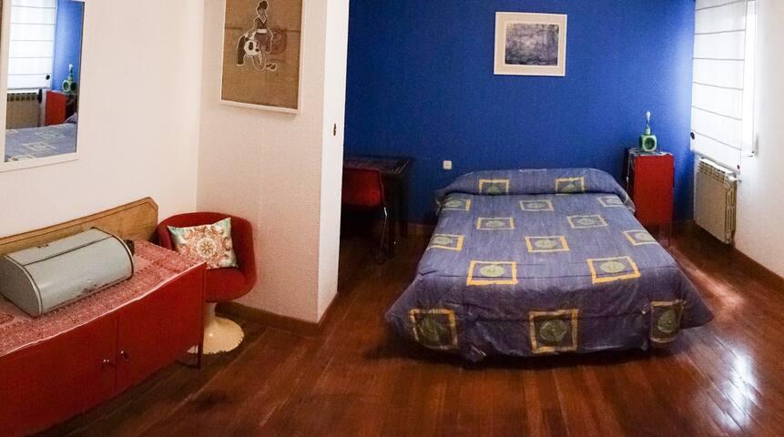Akash Blue Room: Habitación con baño