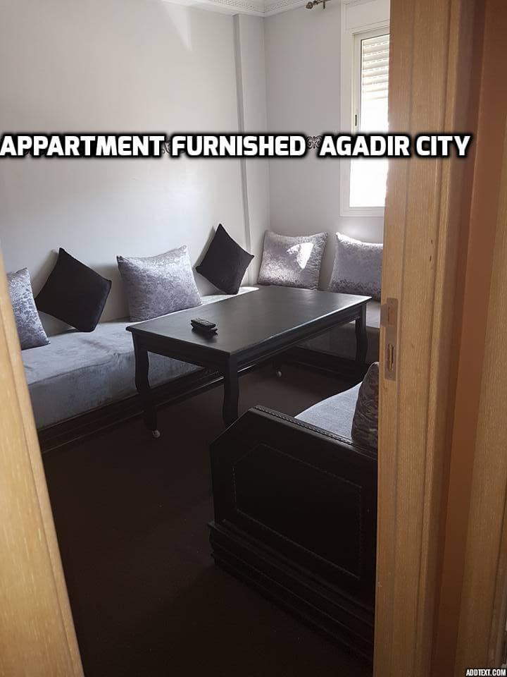 Appartement Flat Studio  Furnished  Agadir city