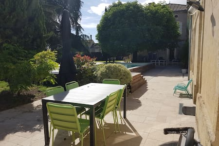 Stunning guesthouse, pool, garden and parking
