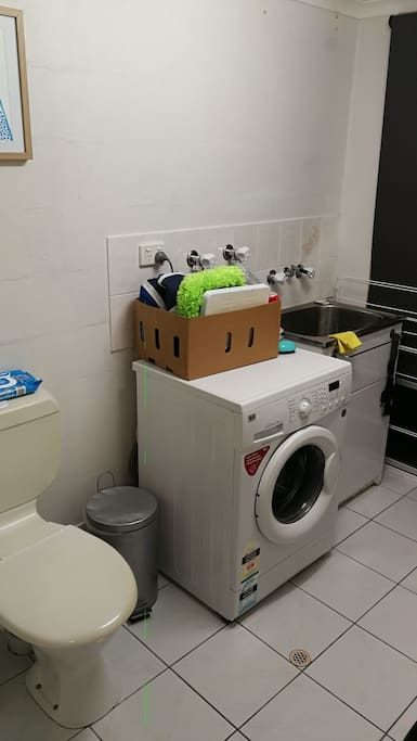 Laundry with WC