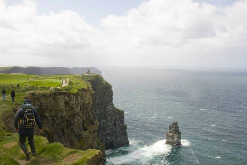 The Cliffs of Moher walk not to be missed.