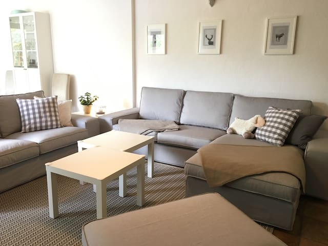 Central 3 Bedroom Apartment with Terrace