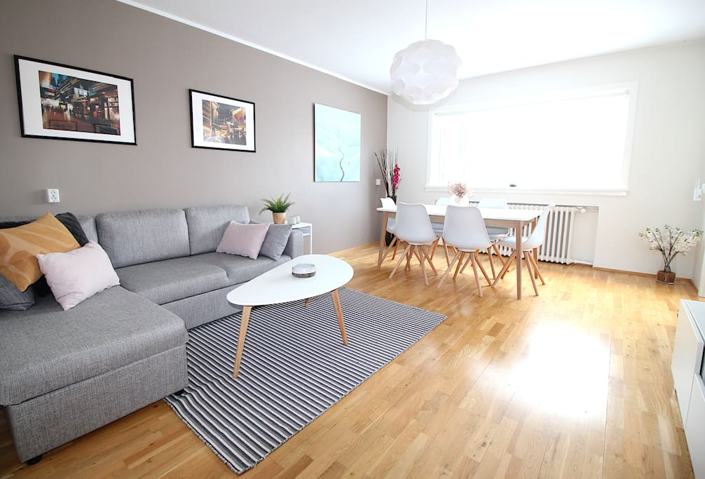 Bright and modern apartment in a great location in the downtown area of Reykjavik.