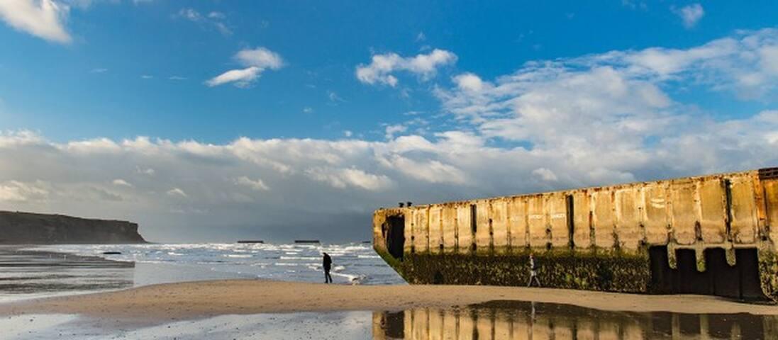 Les plages historiques du débarquement