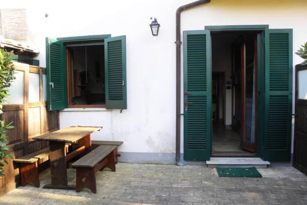 patio nord (verso sud)