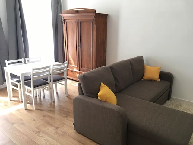 Apartment in center of Pärnu, with air conditioner