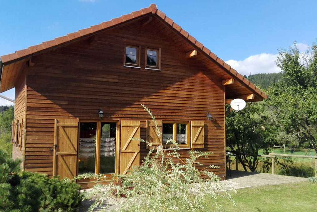 Chalet bois proche de g rardmer et de l 39 alsace chalets - Chauffer un garage non isole ...