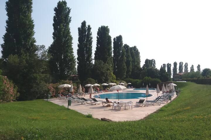 Villetta a schiera con piscina, Golf Club Lignano
