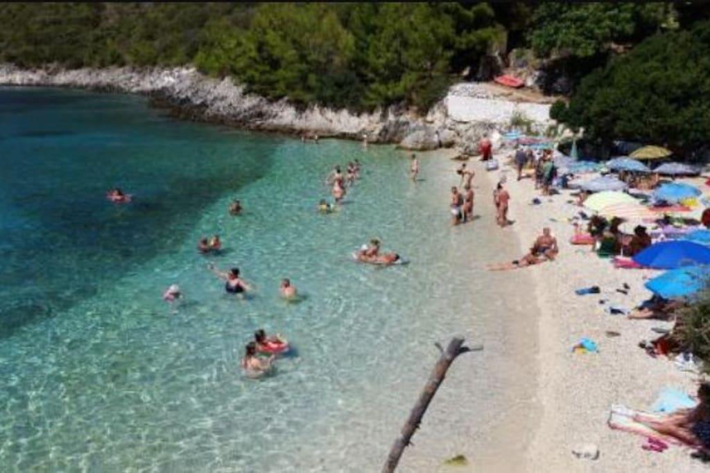 Παραλία Αφτελι  - Ευγηρος .  Afteli beach of Evgiros village .