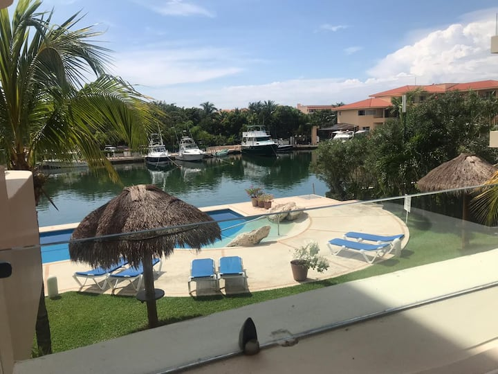 Beautiful 2 bedroom condo in Puerto Aventuras