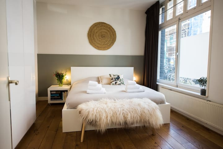 stylish groundfloor apartment 1 min from center