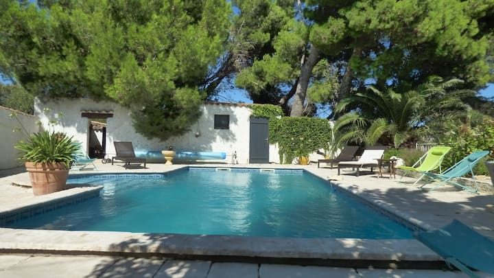 maison de campagne T4 avec piscine privée