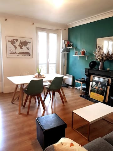 Charmant appartement 42m2 - Batignolles