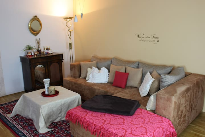 Charming and comfy apartment for groups and family - München - Condominium