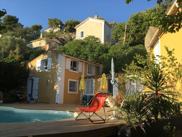 La campagne Provençale en Ville de Marseille