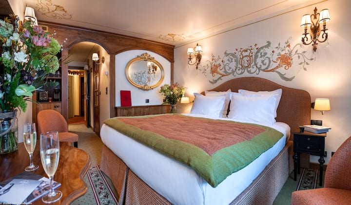 Hôtel de la Loze, Superior Room Slopes View
