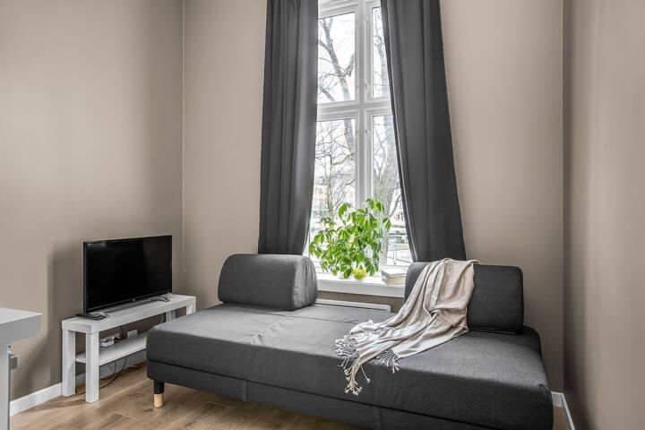 Studioleilighet sentralt på Grünerløkka.