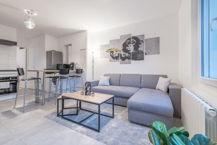 Appartement rénové, proche gare de Saint Nazaire