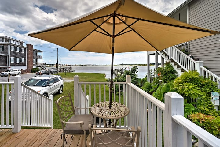 Historic Swansboro Studio w/ Intracoastal View!