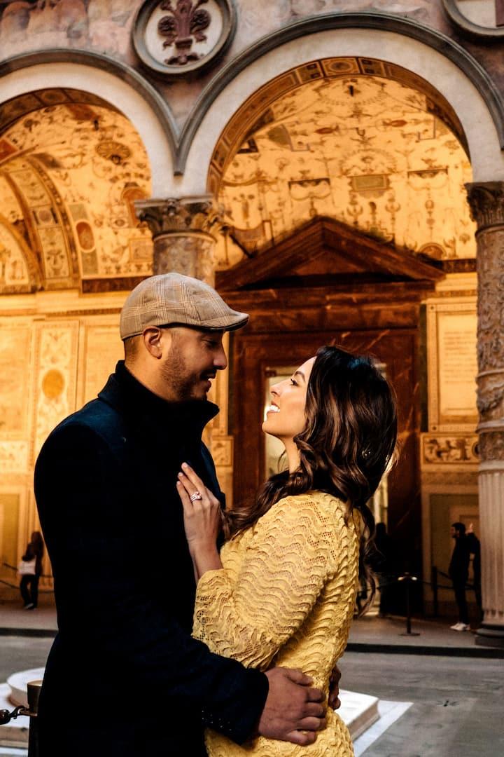 Honeymoon shooting in Florence