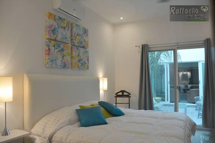 Hotel Raffaello, habitación con cama King Size