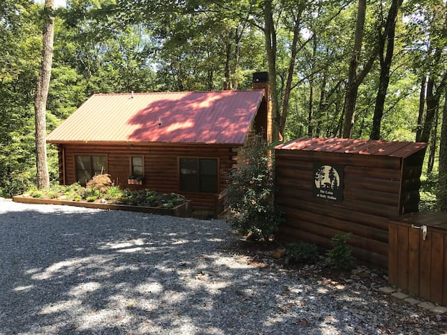 The Cabin at Holly Hollow in Cherry Log GA