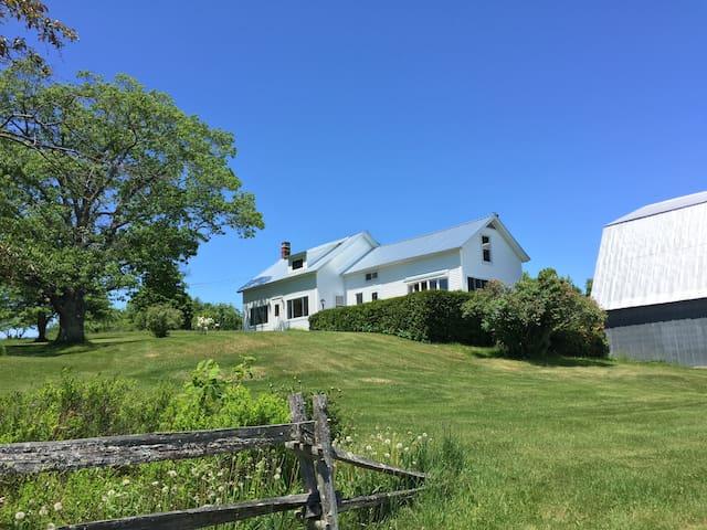 Davignon Farm,  Northeast Kingdom, Brownington, VT