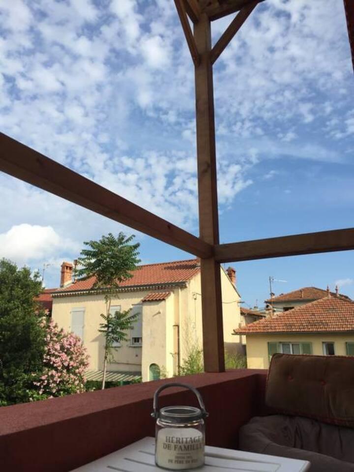 Toulon ouest - Chambre avec douche dans colloc