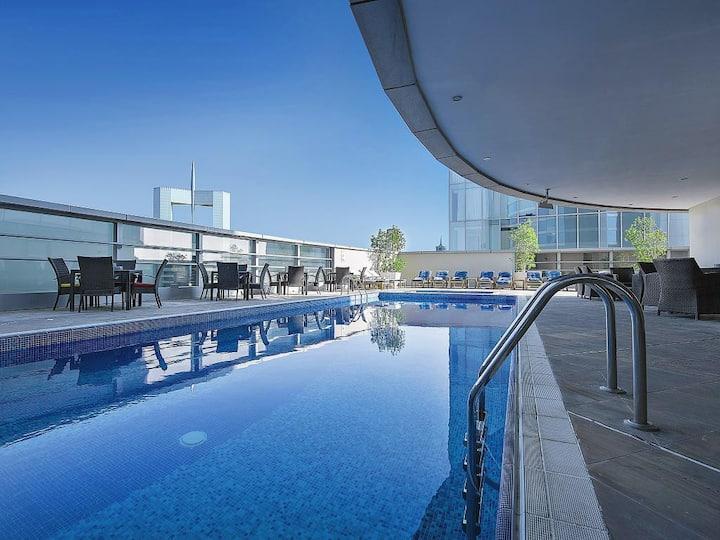 Deluxe Private Hotel Studio walk-able FC Metro
