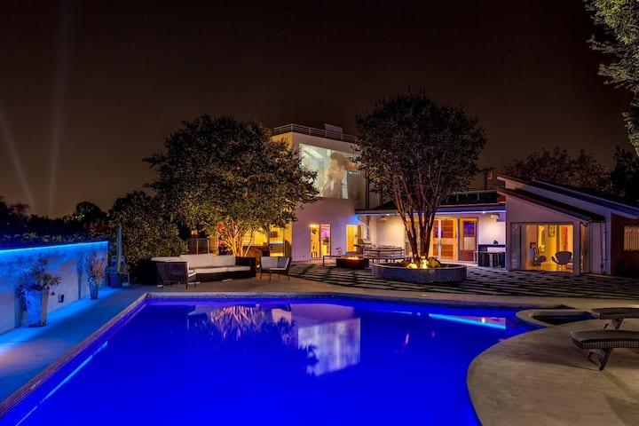 Hollywood Hills Celeb POOL/VIEW/GYM/i-Smart Estate