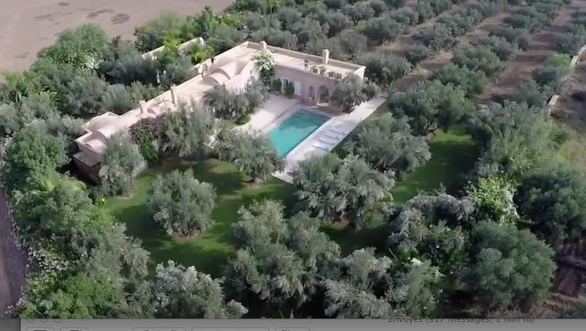 """""""Al arsa el Jadida"""" Charming villa proche Médina"""