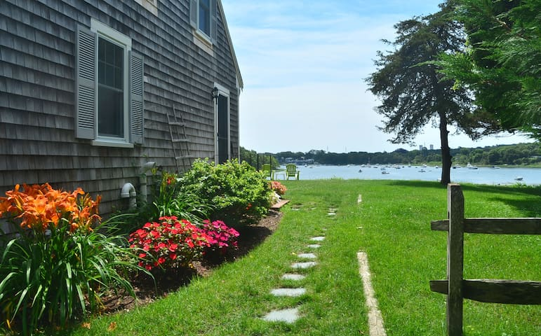 Cape Cod Cottage with Private Waterfront