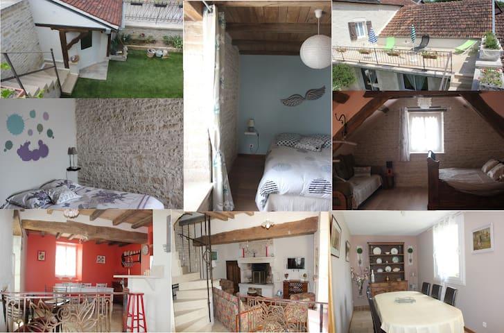 Gîte La Ptite Lazz - Les Riceys - Huis