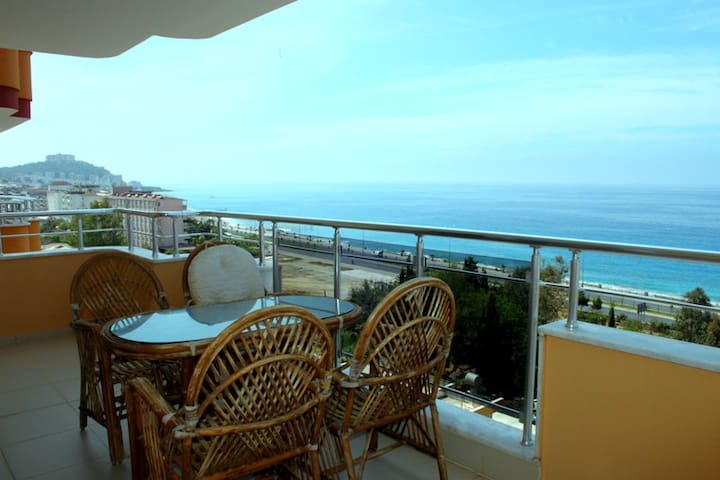 2-bedroom apartment with panoramic sea view - Alanya - Apartment