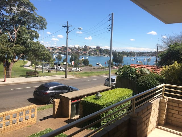 Room with balcony in a water view apartment - Drummoyne - Apartment