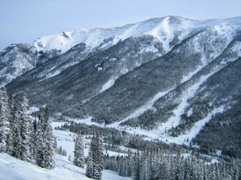 The condo is minutes away from world class skiing, including Copper, Breck, A-Basin, and Keystone.