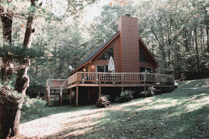 Poppy's Mountain House ~ Our Home Away from Home
